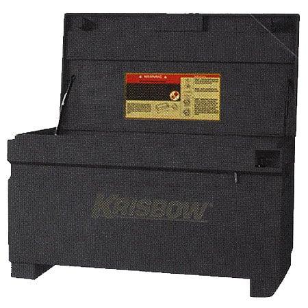 KRISBOW KW0103695 Bobsite Box 72x31x28cm Black type:KW0103697