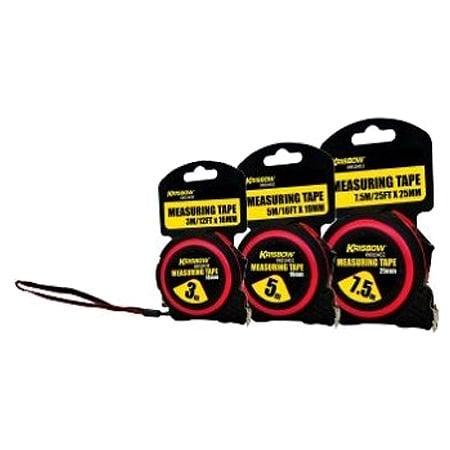 KRISBOW KW0104030 Measuring Tape Red 3M type:KW0104032