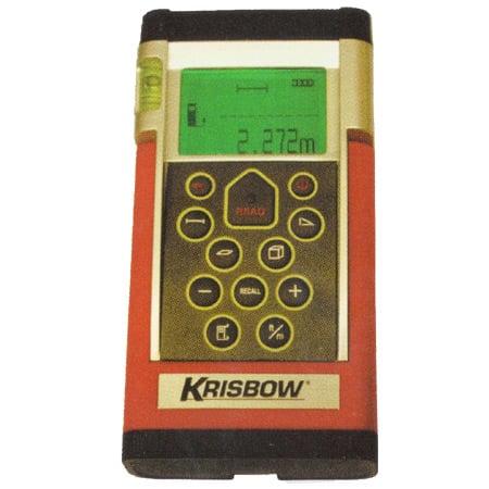 KRISBOW KW0600526 Laser Distance Meter 60M Indoor Rt/06-799 type:KW0600671 (DC)