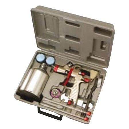 KRISBOW KW1200223 Spray Gun Kit 1.0MM 2000Cc Alumunium Cup type:KW1200224