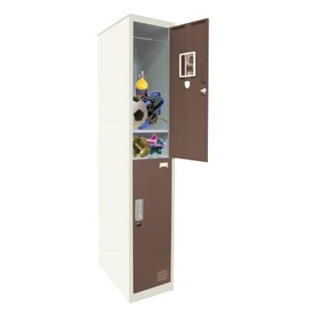 KRISBOW KW1700969 Locker 180x32x50cm Brown type:KW1700971