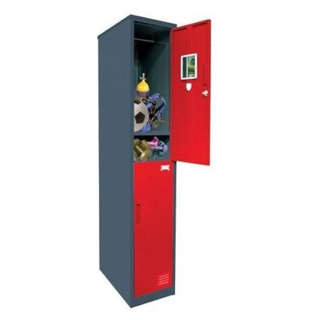 KRISBOW KW1700974 Locker 180x32x50cm Red type:KW1700976