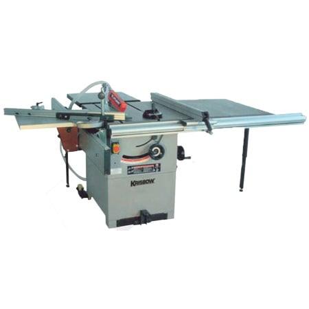 KRISBOW KW2200060 Heavy Duty Table Saw 10 Inch 3HP, 3PH type:KW2200061