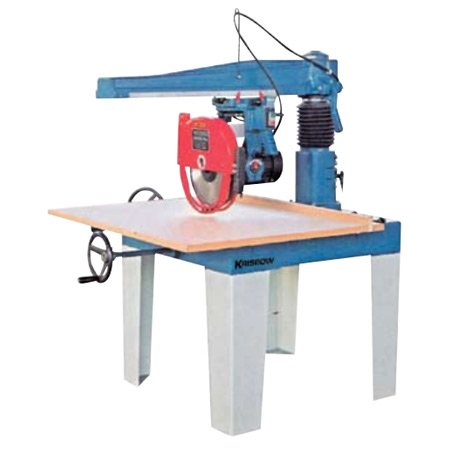 KRISBOW KW2200086 Radial Arm Saw 12 Inch 4HP, 3PH type:KW2200087