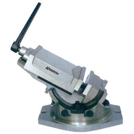 KRISBOW KW0400315 Tilting Machine Vise 100 Open 80MM type:KW0400316