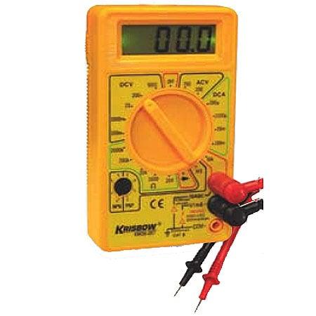 KRISBOW KW0600267 Digital Multimeter with Flashlight type:KW0600270