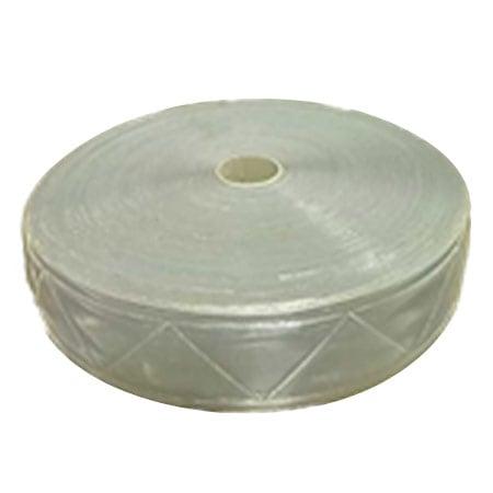 LEOPARD WHITE 0040 PVC Scotlite 2 Inch type:ORANGE 0040