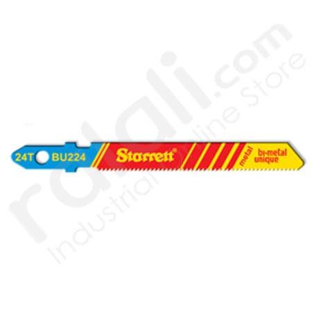 STARRETT BU224 Blades Jigsaw Machines Metal 2 Inch @5Pcs type:BU232