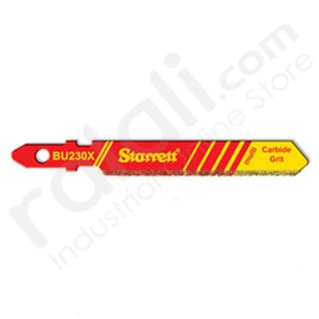 STARRETT BU230X Blades Jigsaw Machines Abrasive Material 2 Inch @5Pcs