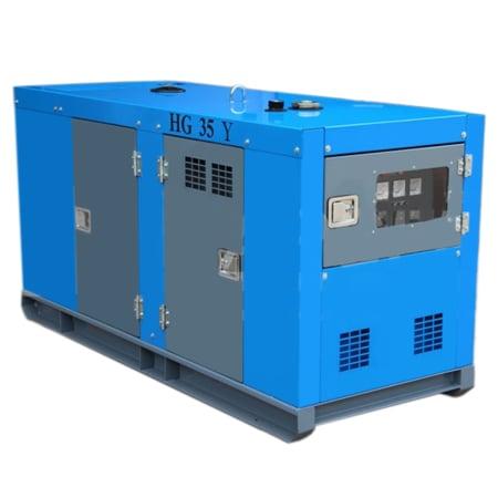 HARGEN Yanmar Diesel Generator Silent 42.5 Kva With Stamford
