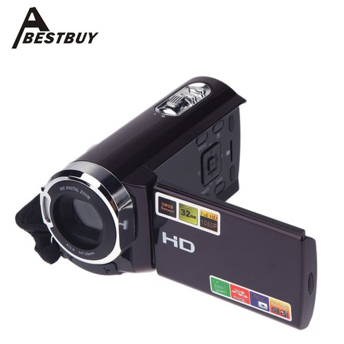 Andoer HDV-501ST 1080P Full HD 20MP Digital Video DV Camera Interpolation 3.0inch LCD Touch Screen 16x Zoom 270 Rotation Mini Camcorder HDV-501ST