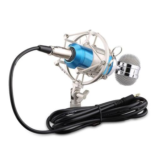 BuyinCoins Condenser Microphone Studio Sound Recording+Shock Stand Pop Filter BM-8000 #83941 83941
