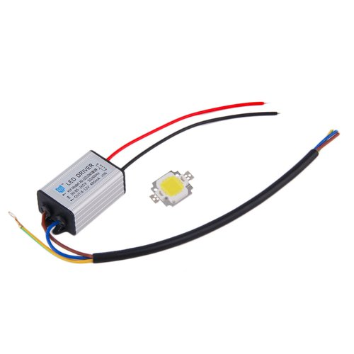 Raksasa Elektronik 10W LED SMD Chip With LED Driver Supply