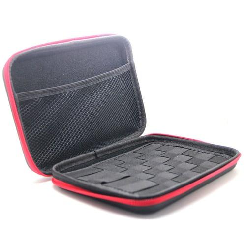 Raksasa Elektronik New all in one e cig tools bag case for packing atomizer e liquid coil wire e cig cotton tweezer jig master kbag e cig tools bag