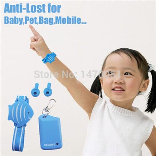 New Cute Fish Wristband Anti-Lost Safety Alarm Child Pet