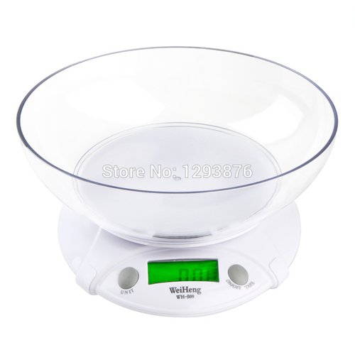 WeiHeng 7000gx 1g Kitchen Backlight Digital Electronic Scales Portable Food Diet Kg Lb Oz LED electronic Scale WH-B09