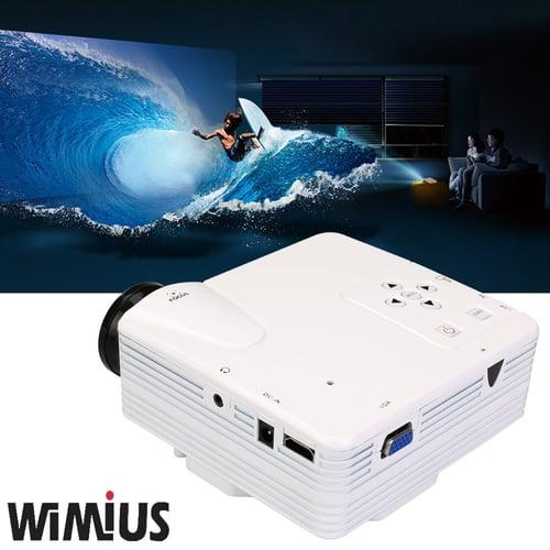 WIMIUS Mini LED LCD Projector Home Theatre Full HD H80 MINI