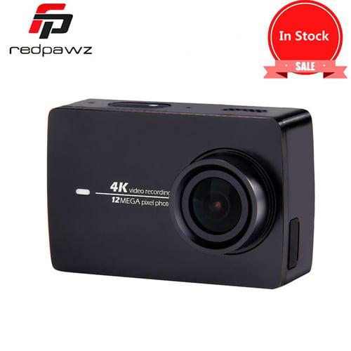 """xiaomi Xiaomi YI 4K Action HD Camera 2 II 2.19"""" Retina Screen IMX377 12MP 155 Degree EIS LDC Sport Camera Xiaomi YI Action Camera 2"""