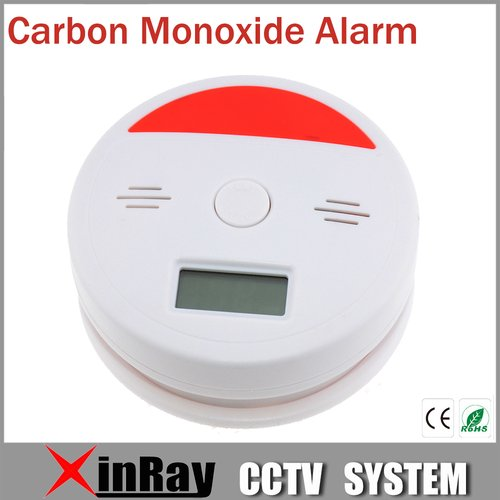 Stationery Station Smoke Alarm VKL601 Permanent Carbon Monoxide Sensor Smoke Detector with 3 digits  LCD display